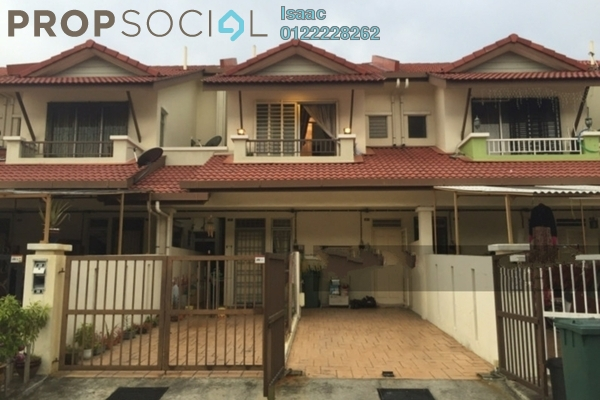 For Sale Townhouse at Bayu Parkville, Balakong Freehold Semi Furnished 3R/2B 340k