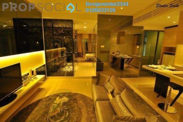 For Rent Serviced Residence at Eve Suite, Ara Damansara Freehold Fully Furnished 0R/1B 1.7k