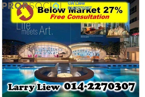 For Sale Condominium at Arte KL, Kuchai Lama Freehold Semi Furnished 5R/3B 875k