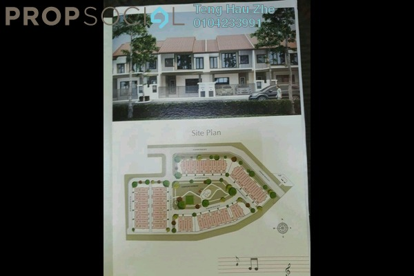 For Sale Terrace at Ukiran, Alam Impian Freehold Unfurnished 4R/4B 800k