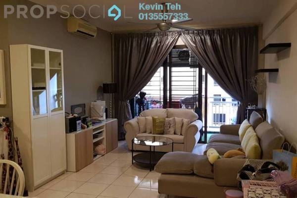 For Rent Condominium at Casa Kiara I, Mont Kiara Freehold Fully Furnished 3R/2B 2.6k