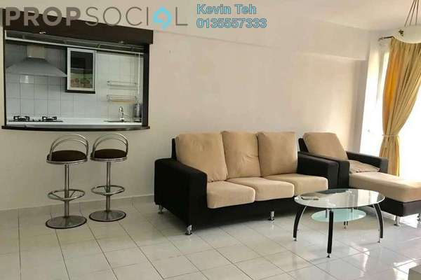 For Rent Condominium at Laman Suria, Mont Kiara Freehold Fully Furnished 3R/2B 2.8k