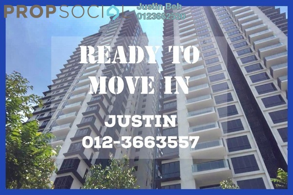 For Sale Condominium at Anjali @ North Kiara, Segambut Freehold Semi Furnished 3R/2B 890k