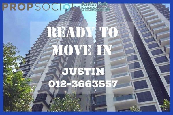 For Sale Condominium at Anjali @ North Kiara, Segambut Freehold Semi Furnished 3R/2B 890k