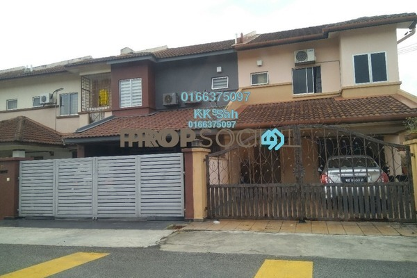 For Sale Terrace at Taman Sejati 5, Klang Freehold Semi Furnished 4R/3B 420k