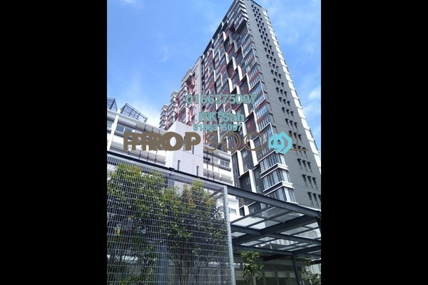 For Sale Condominium at Taman Tasik Prima, Puchong Freehold Semi Furnished 3R/2B 608k