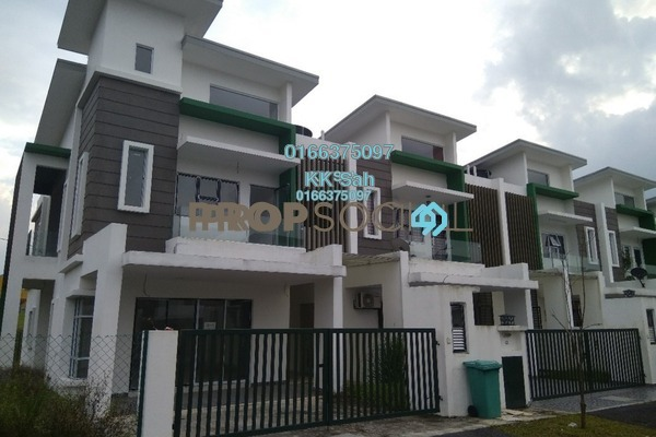For Sale Superlink at Taman Bangi Villa, Bangi Leasehold Unfurnished 4R/4B 574k