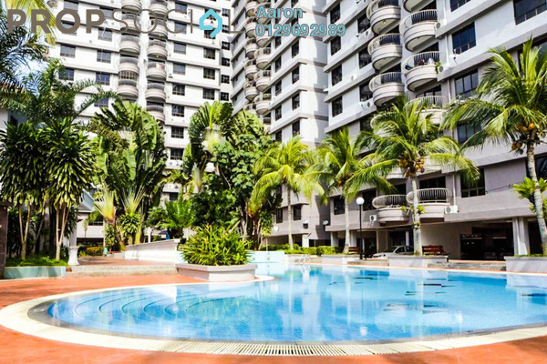 For Sale Condominium at Selat Horizon Condominium, Melaka Freehold Fully Furnished 3R/2B 315k