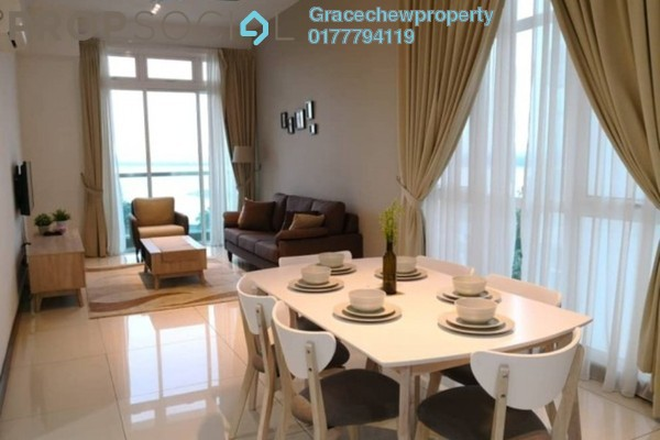 For Rent Serviced Residence at Paragon Residences @ Straits View, Johor Bahru Freehold Fully Furnished 3R/2B 3k