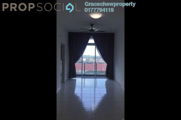 For Sale Serviced Residence at The Senai Garden, Senai Freehold Semi Furnished 1R/1B 305k