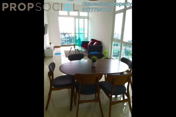 For Rent Serviced Residence at Paragon Residences @ Straits View, Johor Bahru Freehold Fully Furnished 3R/3B 2.68k