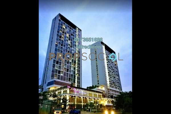 For Sale Condominium at The Place, Cyberjaya Freehold Semi Furnished 1R/1B 270k