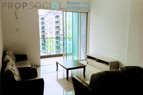 For Rent Condominium at Mahkota Garden Condominium, Bandar Mahkota Cheras Freehold Fully Furnished 4R/2B 1.3k