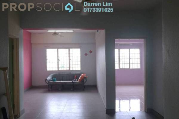 For Rent Apartment at Prisma Perdana, Cheras Freehold Semi Furnished 3R/2B 1.2k