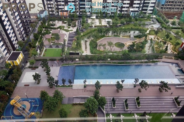 For Rent Condominium at Lakeville Residence, Jalan Ipoh Freehold Semi Furnished 3R/2B 1.8k