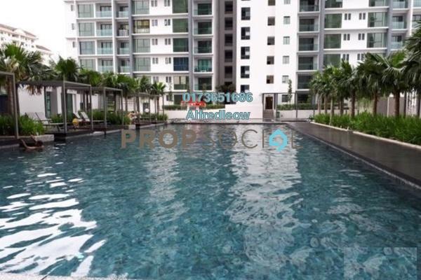 For Rent Condominium at Ascenda Residence @ SkyArena, Setapak Freehold Semi Furnished 3R/2B 1.3k