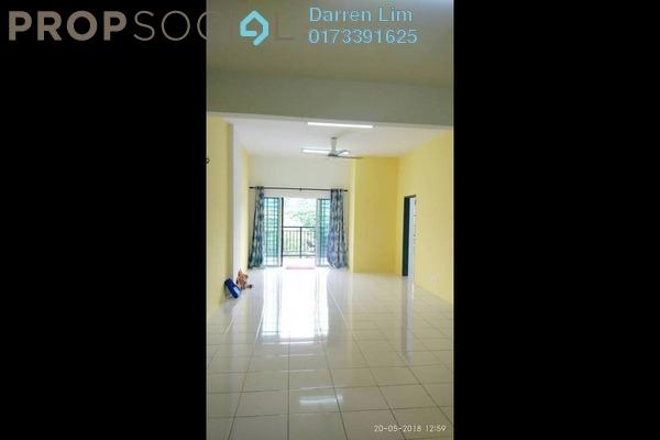 For Rent Apartment at Suria Residence, Bandar Mahkota Cheras Freehold Semi Furnished 4R/2B 1k