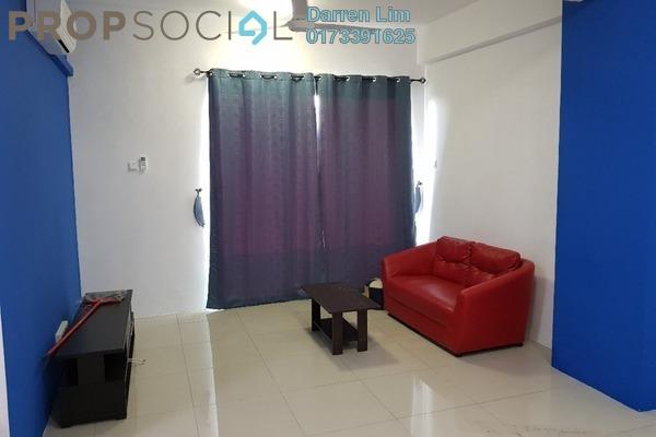 For Rent Condominium at Mahkota Garden Condominium, Bandar Mahkota Cheras Freehold Semi Furnished 4R/2B 1.25k