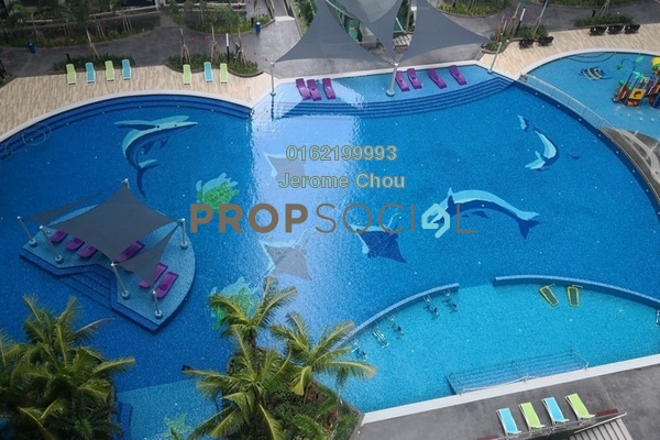 For Sale Condominium at The Atlantis Residences, Melaka Freehold Unfurnished 1R/1B 358k