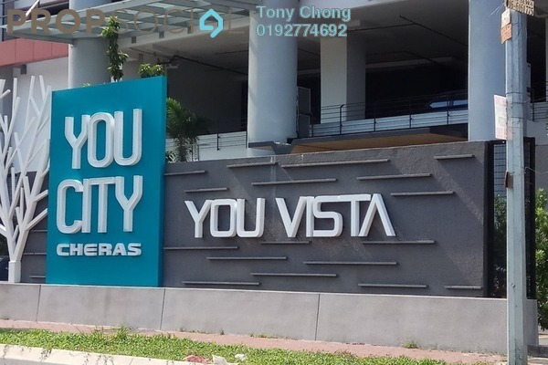For Rent Condominium at You Vista @ You City, Batu 9 Cheras Freehold Fully Furnished 3R/3B 2.6k