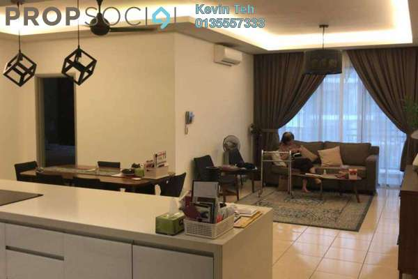 For Sale Condominium at Casa Kiara I, Mont Kiara Freehold Fully Furnished 3R/3B 900k