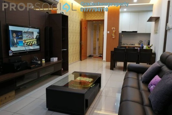 For Rent Serviced Residence at The Senai Garden, Senai Freehold Fully Furnished 3R/2B 2.38k