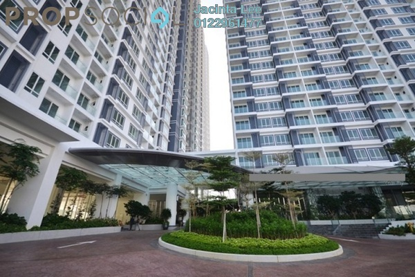 For Sale Serviced Residence at Desa Green Serviced Apartment, Taman Desa Freehold Semi Furnished 2R/2B 446k