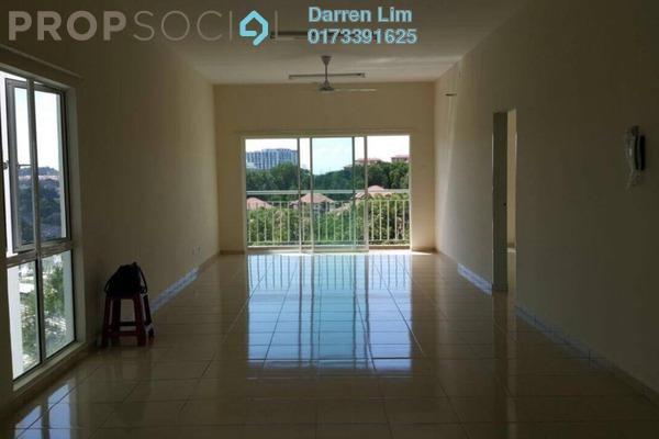 For Rent Condominium at The iResidence, Bandar Mahkota Cheras Freehold Semi Furnished 3R/2B 1.4k