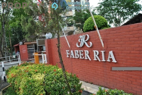 For Sale Condominium at Faber Ria, Taman Desa Freehold Semi Furnished 2R/2B 393k