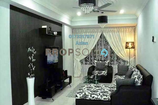 For Sale Condominium at Bayu Tasik 1, Bandar Sri Permaisuri Freehold Fully Furnished 3R/2B 390k