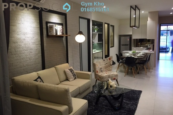 For Rent Condominium at D'Sands Residence, Old Klang Road Freehold Semi Furnished 2R/1B 1.3k