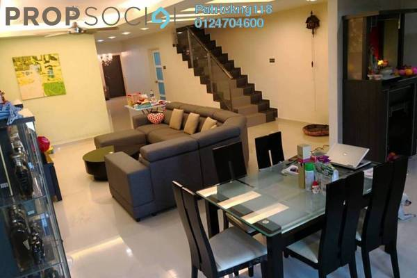 For Sale Terrace at Taman United, Old Klang Road Freehold Fully Furnished 4R/3B 1.25m