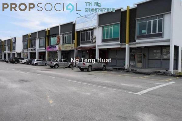 For Sale Shop at Carnation Villa, Bukit Minyak Freehold Unfurnished 0R/0B 750k