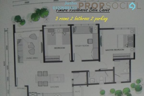 For Rent Condominium at Amara, Batu Caves Freehold Semi Furnished 3R/2B 1.1k