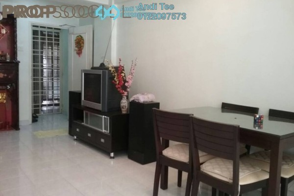 For Sale Apartment at Sri Hijau, Bandar Mahkota Cheras Freehold Semi Furnished 3R/2B 315k