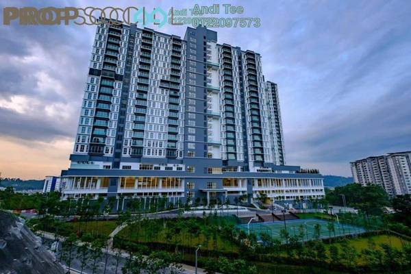 For Sale Condominium at Green Residence, Cheras South Freehold Semi Furnished 4R/5B 770k
