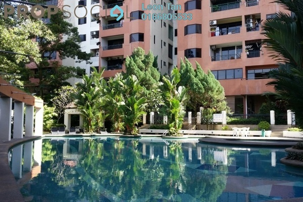 For Rent Condominium at Maxwell Towers, Gasing Heights Freehold Semi Furnished 3R/3B 2.5k