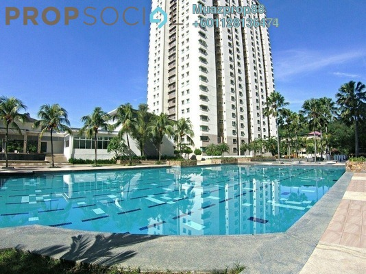 For Sale Condominium at Aman Heights, Seri Kembangan Freehold Semi Furnished 3R/2B 390k