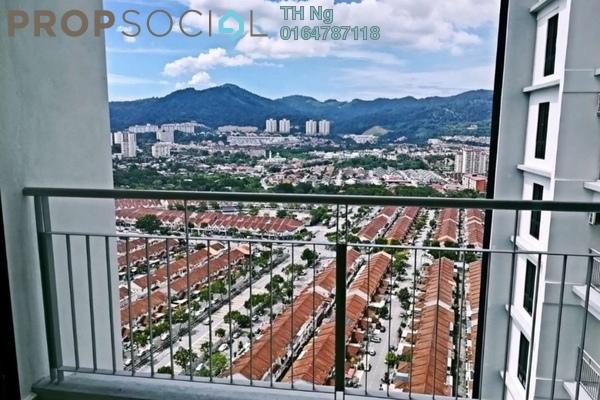 For Sale Condominium at Promenade Residence, Bayan Baru Freehold Semi Furnished 4R/3B 618k