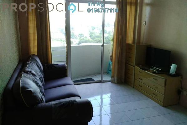 For Sale Condominium at Sinar Bukit Dumbar, Gelugor Freehold Fully Furnished 3R/2B 350k