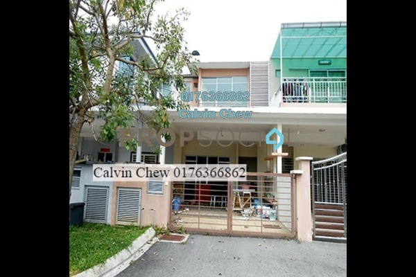 For Sale Terrace at Cassia, Rawang Freehold Unfurnished 4R/0B 486k