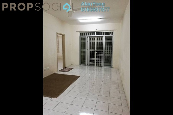 For Rent Condominium at Platinum Hill PV3, Setapak Freehold Semi Furnished 4R/2B 1.5k