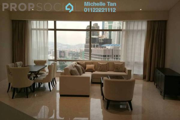 For Rent Serviced Residence at Banyan Tree, KLCC Freehold Fully Furnished 3R/3B 15k
