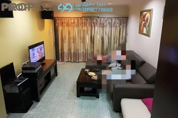 For Sale Terrace at Taman Bukit Maluri, Kepong Freehold Semi Furnished 4R/2B 850k