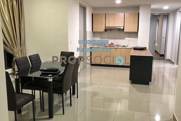 For Rent Condominium at Paloma Serviced Residences, Subang Jaya Freehold Fully Furnished 4R/3B 3.1k