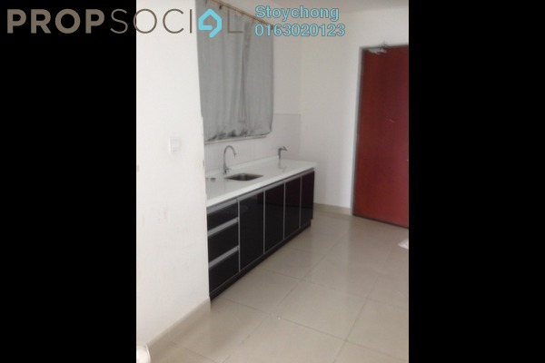 For Rent Condominium at Ritze Perdana 2, Damansara Perdana Freehold Semi Furnished 1R/1B 1.1k