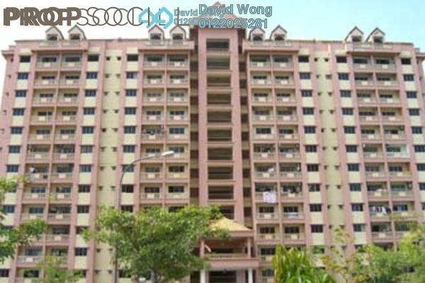 For Rent Apartment at Anggerik Villa 2, Kajang Freehold Semi Furnished 3R/2B 1.1k