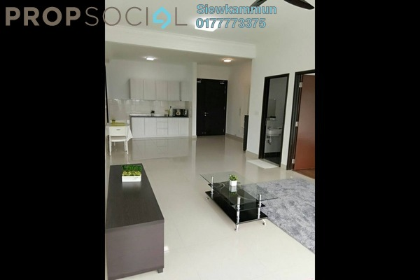 For Rent Serviced Residence at Boulevard Serviced Apartment, Jalan Ipoh Freehold Semi Furnished 3R/2B 1.8k