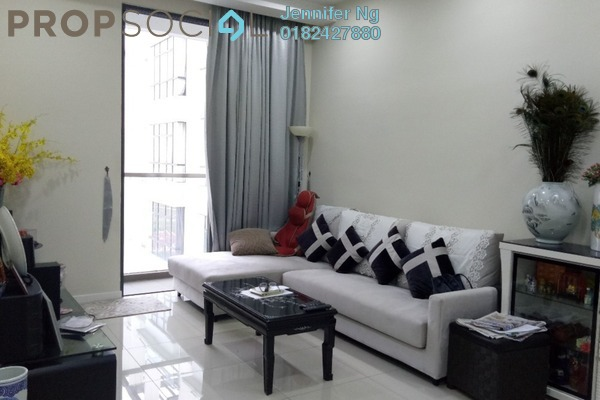 For Rent Condominium at KU Suites, Kemuning Utama Freehold Fully Furnished 3R/2B 2k