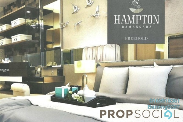For Sale Apartment at Hampton Damansara, Kuala Lumpur Freehold Semi Furnished 2R/2B 720k